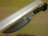 Нож из ЖД костыля photo 9