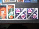 Лот почтовых марок СССР - космос, чистые, MNH. photo 4