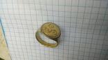 Перстень КР срібло в позолоті ''Тріскел'' (повторно) photo 5