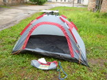 Намет - Палатка на 2 особи для відпочинку з Німеччини