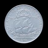 2 Кроны 1938 300 лет поселению Делавэр, Швеция