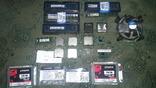 Набір процессорів, ОЗУ, HDD, та інших деталей для ПК та ноутбуків.
