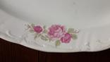 Красивое блюдо с розами 1920х годов Буды, фото №11