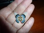 Ожерелье с бирюзой и шпинелью, фото №4