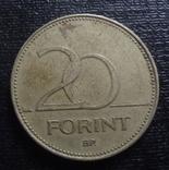 20  форинтов  1993 Венгрия  (О.11.8)~, фото №2