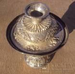 Ритуальный кубок с крышкой, серебро. Тибет, 19 век., фото №5