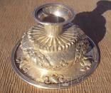 Ритуальный кубок с крышкой, серебро. Тибет, 19 век., фото №11