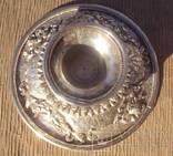 Ритуальный кубок с крышкой, серебро. Тибет, 19 век., фото №12
