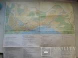 Две карты туристические,Ялта 1977 г.,Крым 1980 г., фото №12