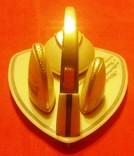 Набор настольный подарочный: горчичница, солонка, перечница, 1968 год, фото №4