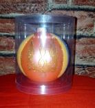 """Коллекционная ёлочная игрушка шар с надписью """"Слава Украiнi"""" диаметром 9 см., фото №6"""