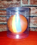 """Коллекционная ёлочная игрушка шар с надписью """"Слава Украiнi"""" диаметром 9 см., фото №8"""