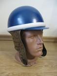 Шлем мотоциклиста 1970-80 года.Новый.