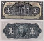 Mexico Мексика - 1 Peso 1914 Pick S304 UNC JavirNV, фото №2