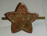 Командирская кокарда РККА 1917-18 года