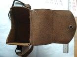 Старинный чехол для фотоаппарата, кожа, фото №3