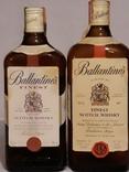 Ballantines R1980 0.75lt + Ballantines 0.7lt 1980+-