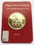 100 кина 1977 года Папуа Новая Гвинея.