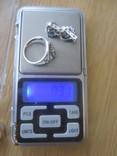 Кольцо и серьги серебро 925 цирконий, фото №11