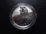 20 долларов 2013  Канада серебро 999    (О.14.6)~, фото №3