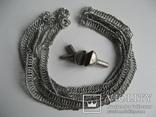 Серебряная цепь шляхтича. 16 - 17 вв., фото №4