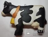 Ёлочная игрушка Корова, фото №3