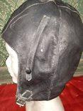 Летный Шлем .1959года кожа, фото №2
