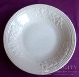 Блюдо. Тарелка большая глубокая. Фаянс., фото №2