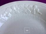 Блюдо. Тарелка большая глубокая. Фаянс., фото №3