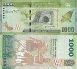 Sri Lanka Шри Ланка - 1000 Rupees 2010 UNC JavirNV, фото №2