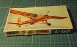 Сборная модель самолёта L-60. ГДР для СССР. М 1:100. photo 2