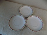 Три порцелянові блюдечка арт-деко з клеймом Austria, фото №9