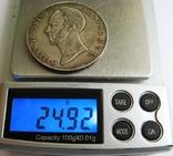 """Нидерланды, 2,5 гульдена 1847 """"WILLEM II"""" photo 6"""