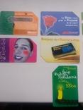 Набір з 9 телефонних карток, фото №3