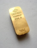 Слиток золота 999.9. 50 грамм. photo 1