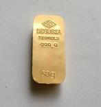 Слиток золота 999.9. 50 грамм. photo 2