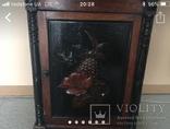 Навесной шкафчик резной, фото №2