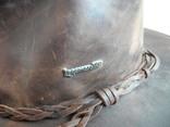 Шляпа кожаная вестерн Lagomarsino p. L ( Сост Нового ) Оригинал, фото №5