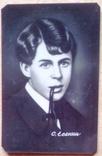 Есенин, 1974 г. пластик., фото №2