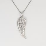 """Серебряная подвеска """"крыло ангела"""" на серебряной цепочке, фото №2"""