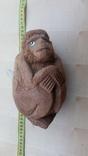 """Кукла """"обезьянка"""" из кокоса(Внутри целый сушеный орех), фото №2"""