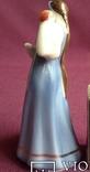 Статуэтка Царевна с яблочком. Фарфор. Песочное 1955 г., фото №6