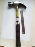 Молоток столярный с гвоздодером 450г