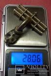 Д003 Серебряная фибула № д003 photo 1