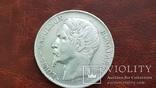5 франков 1852 г. А Луї Наполеон Бонапарт photo 4
