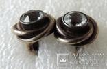 Запонки серебренные №6 photo 5