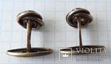 Запонки серебренные №6 photo 7