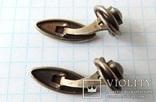 Запонки серебренные №6 photo 9