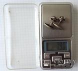 Запонки серебренные №6 photo 12