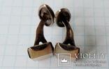 Запонки серебренные №11 photo 5